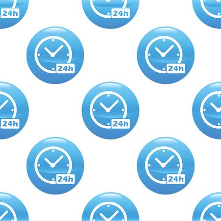 twenty four hours: 24 hours sign pattern