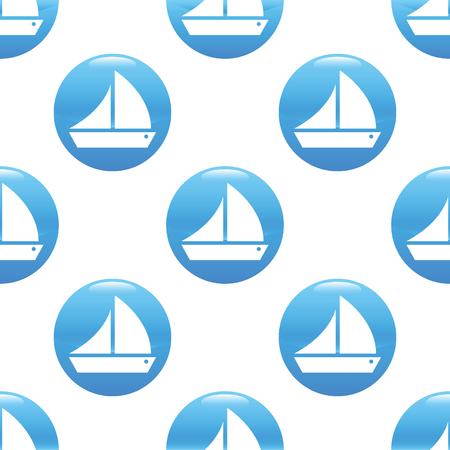 ship sign: Sailing ship sign pattern