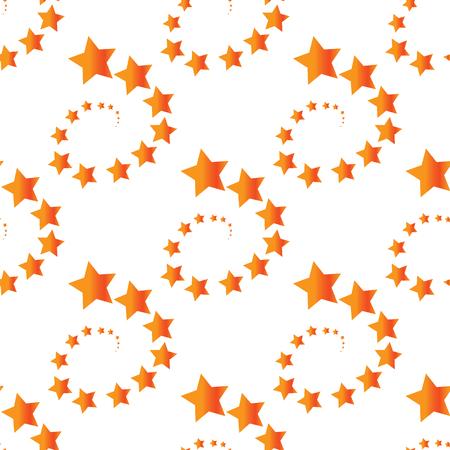 spiral: Star turn pattern