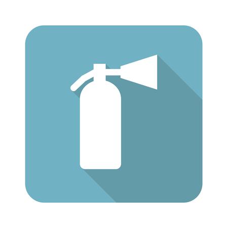burn out: Brandblusser pictogram