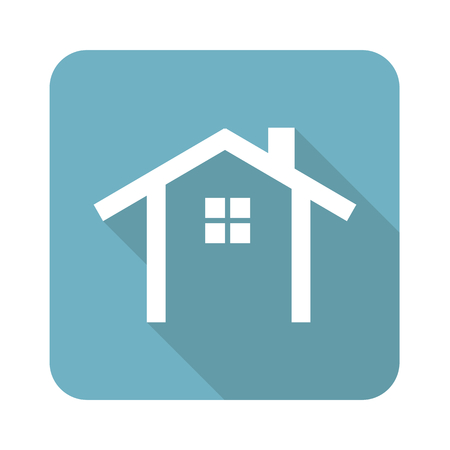 simple house: Simple house icon Illustration