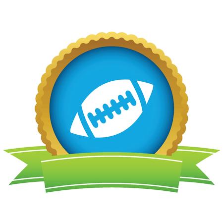 ballon de rugby: Ballon de rugby ic�ne