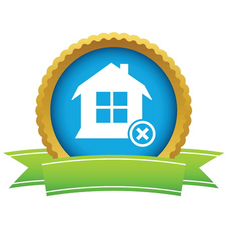 House with cross icon Vector