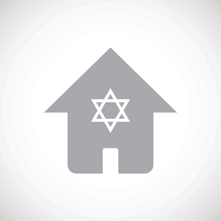 jews: Jewish house icon