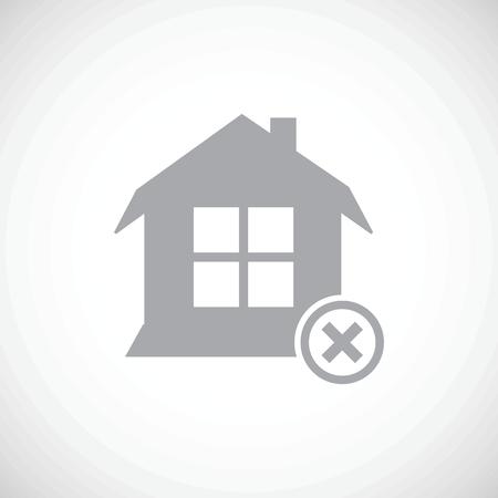 abandoned house: Abandoned house icon
