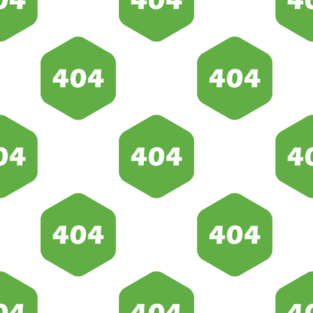 error: Error 404 pattern