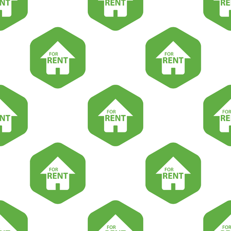 house for rent: House for rent pattern