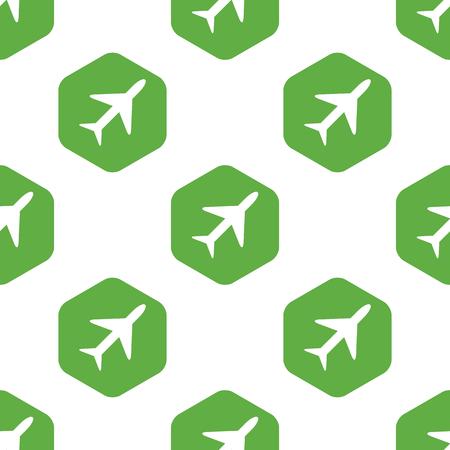 Plane pattern Vector
