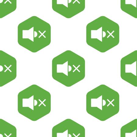 muted: Muted loudspeaker pattern