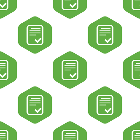 accepted: Accepted document pattern Illustration