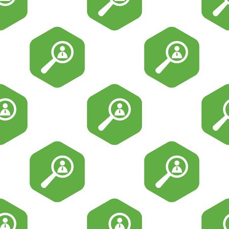 six web website: User details pattern
