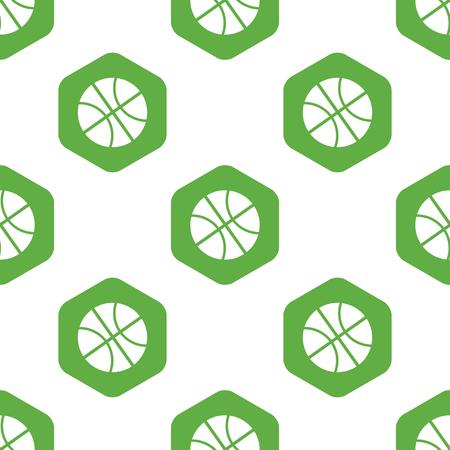 six web website: Basketball pattern