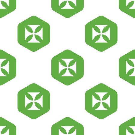 maltese: Maltese cross pattern