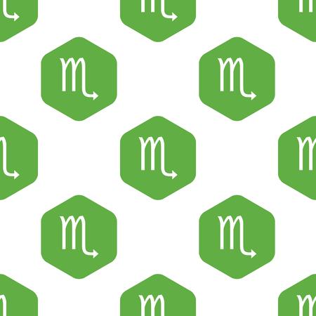 six web website: Scorpio pattern Illustration