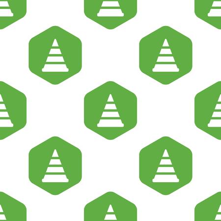 diversion: Traffic cone pattern