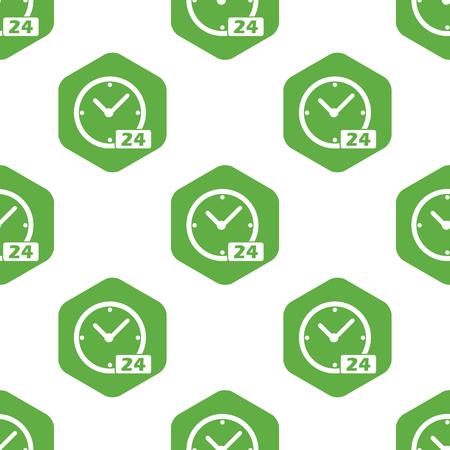 twenty four hour: 24 worktime pattern