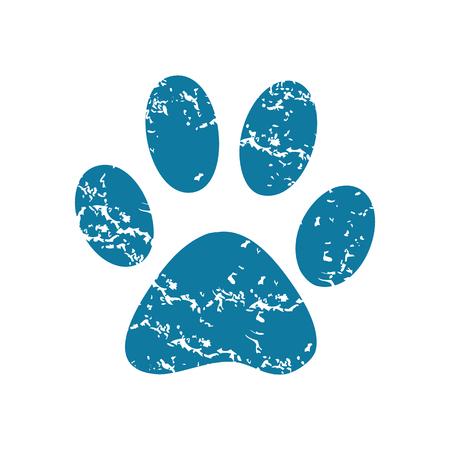 track pad: Paw print icon