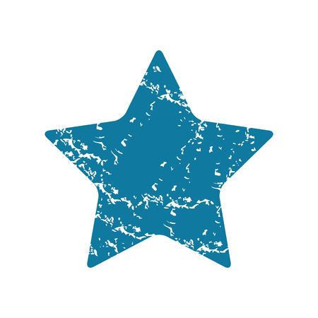 ideogram: Star grunge icon