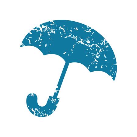 Grunge umbrella icon Vector