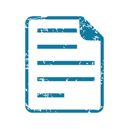 article writing: Grunge document icon