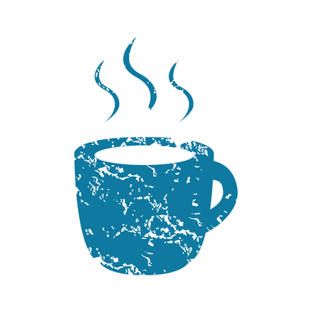 hot drink: Grunge hot drink icon