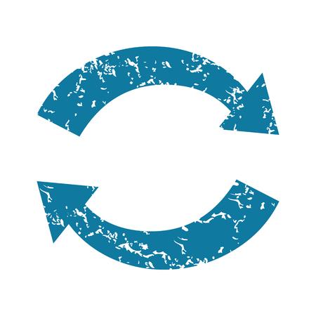 Grunge exchange icon Vector