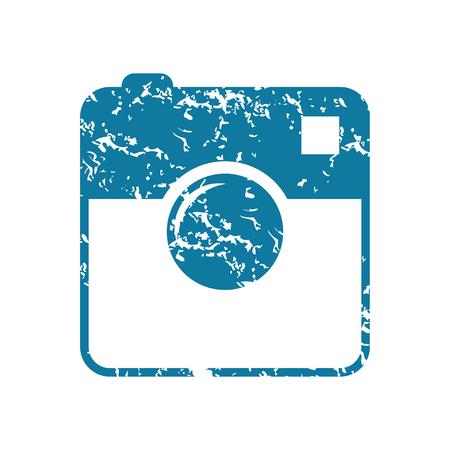 microblog: Grunge square camera icon