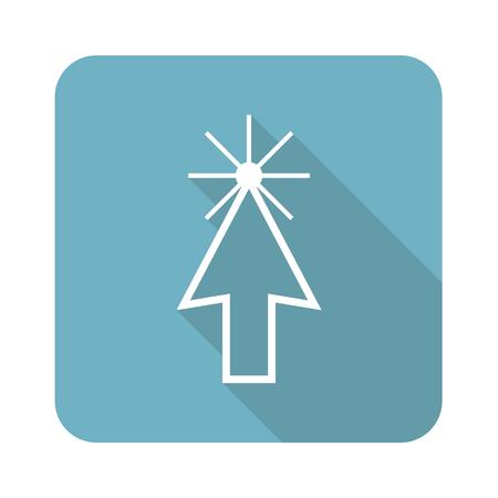 cursor: Square arrow cursor icon