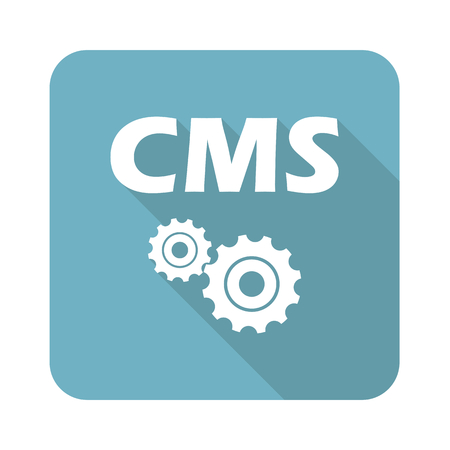 cms: Vierkant CMS icoon