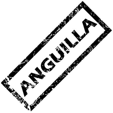 anguilla: ANGUILLA rubber stamp