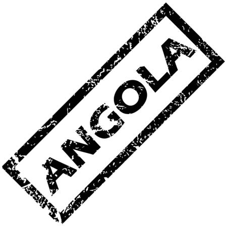angola: ANGOLA rubber stamp