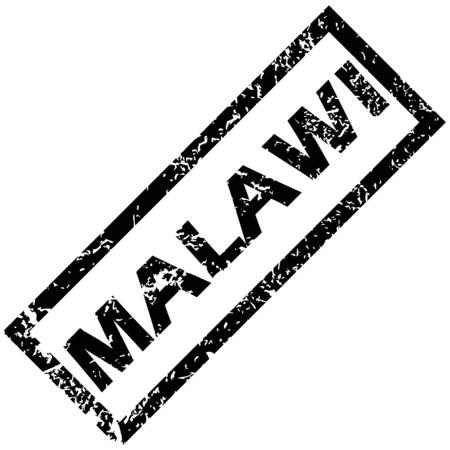 malawi: MALAWI rubber stamp
