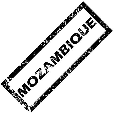 mozambique: MOZAMBIQUE rubber stamp Illustration