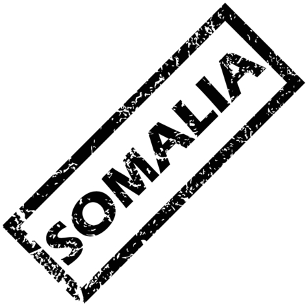 somalia: SOMALIA stamp Illustration