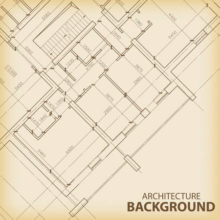 vintage wall: Architecture background 5