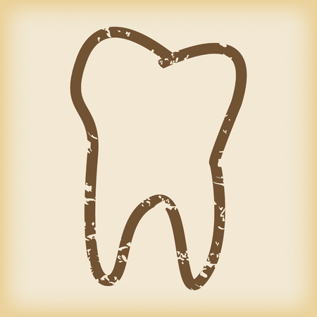 dens: Grungy tooth icon