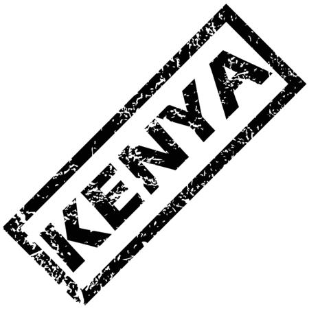 kenya: KENYA rubber stamp