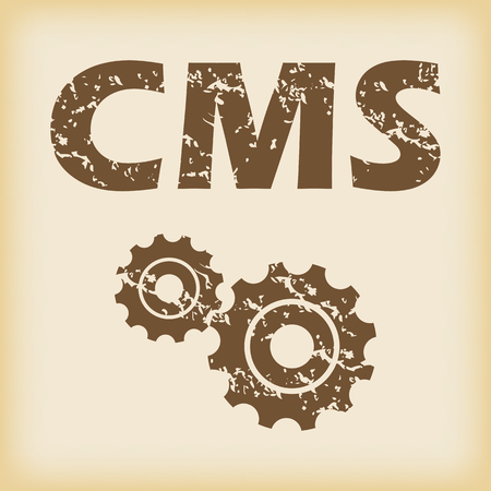 grungy: Grungy CMS settings icon
