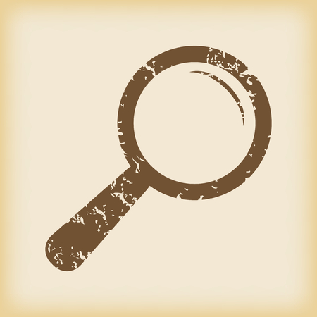 grungy: Grungy search icon