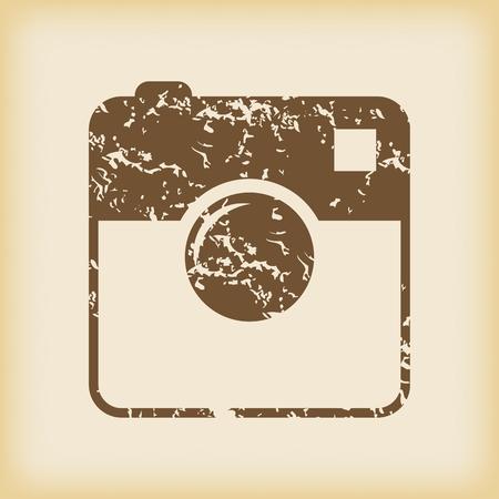 microblog: Grungy square samera icon