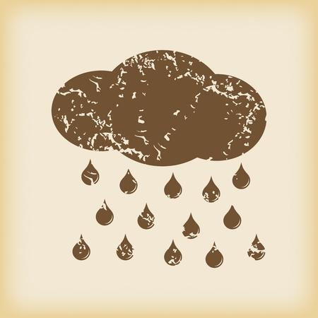 sleet: Grungy rain icon