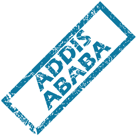 ababa: Addis Ababa rubber stamp