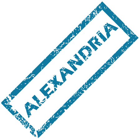 alexandria: Alexandria rubber stamp