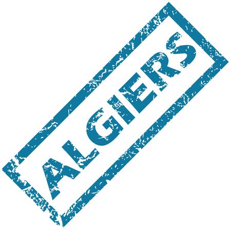 algiers: Algiers rubber stamp