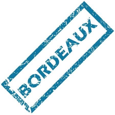 Bordeaux rubber stamp