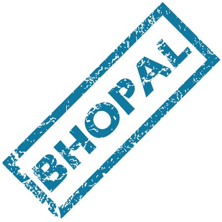 bhopal: Bhopal sello de goma