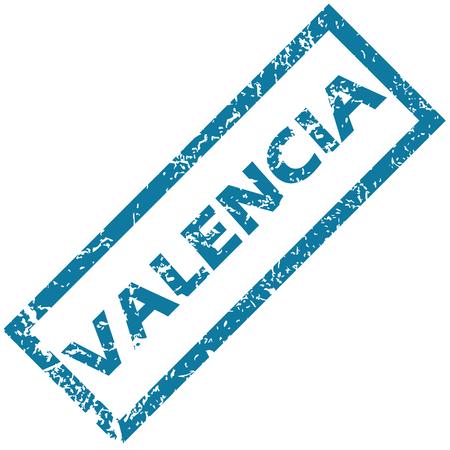 valencia: Valencia rubber stamp