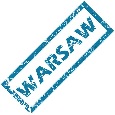 warsaw: Warsaw rubber stamp