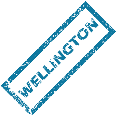 wellington: Wellington rubber stamp Illustration