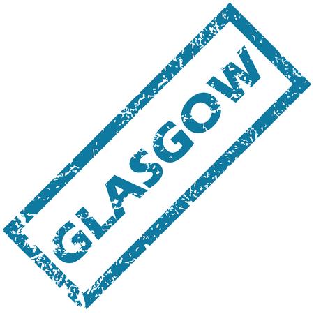 glasgow: Glasgow rubber stamp